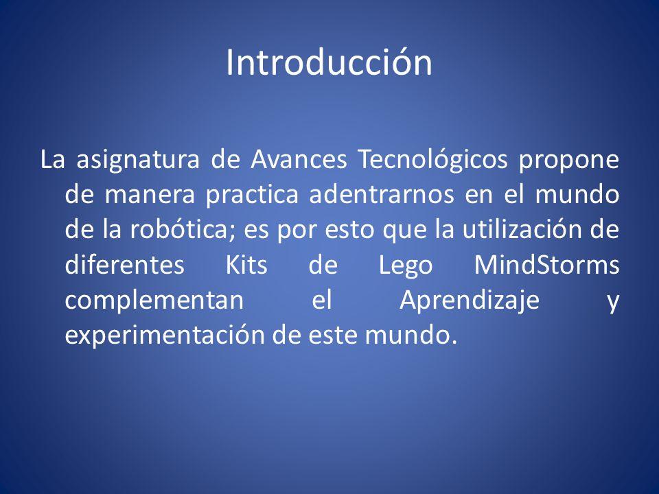 Introducción Nuestro Proyecto consiste en explorar los recursos de programación que incluye el kit de robótica para diseñar un mini robot que ejecute un programa diseñado para el mismo.
