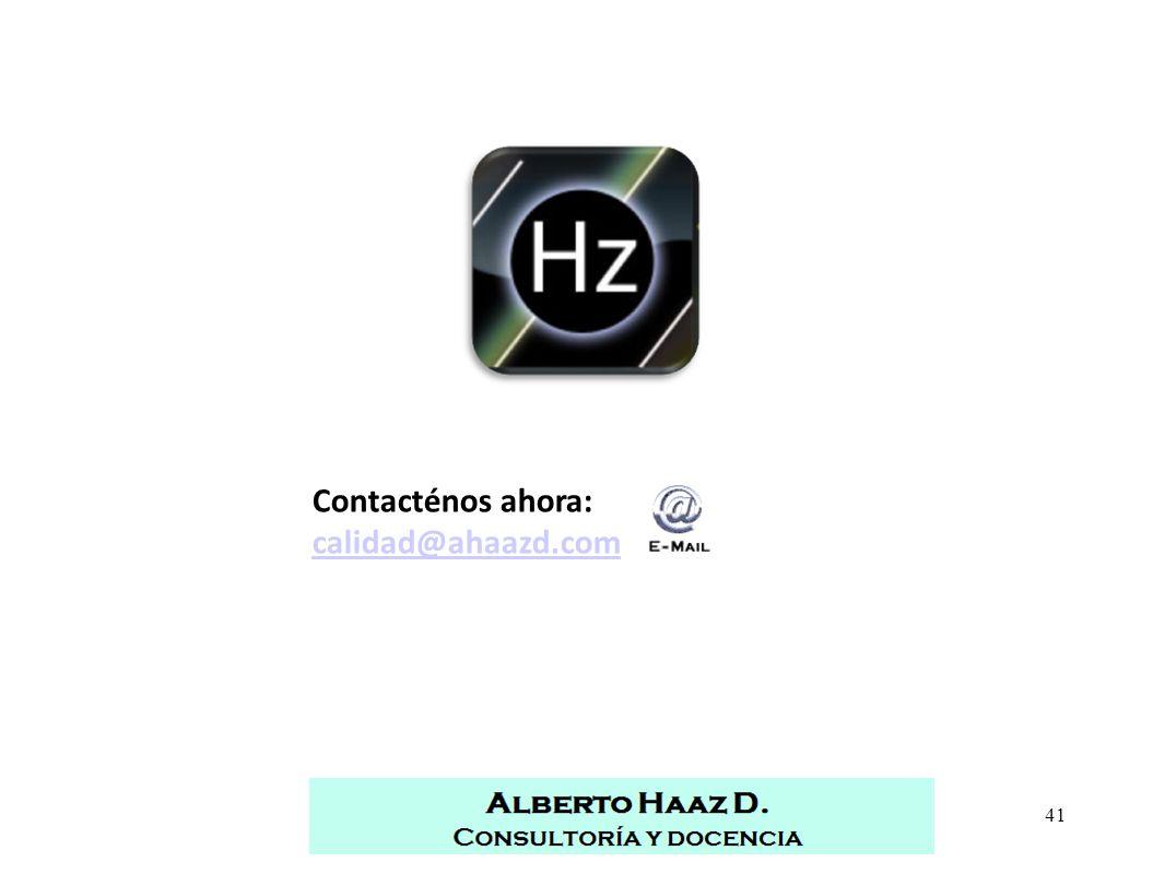 41Alberto Haaz   Consultoría y docencia   Sonora, México Contacténos ahora: calidad@ahaazd.com