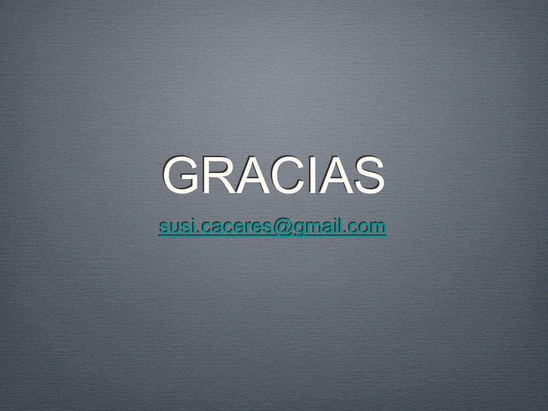 susi.caceres@gmail.com GRACIAS