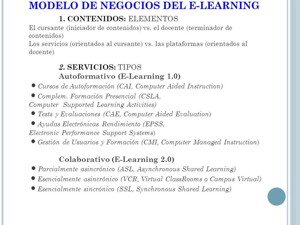 VENTAJAS DEL ENTORNO 2.0 1.Aprendizaje de alto nivel para habilidades complejas 2.