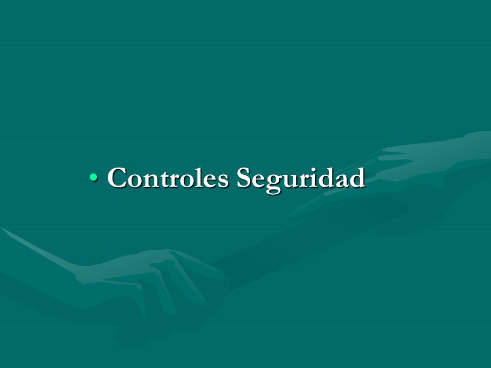 Controles SeguridadControles Seguridad