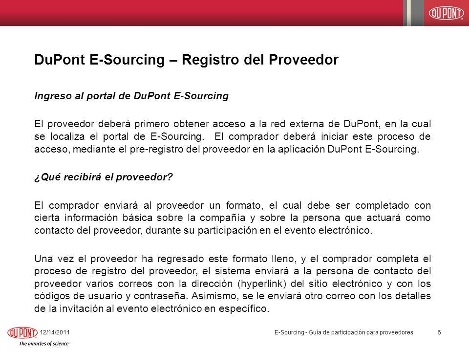 12/14/201126 PasoAcción 9.Es importante que los proveedores den seguimiento al evento continuamente.