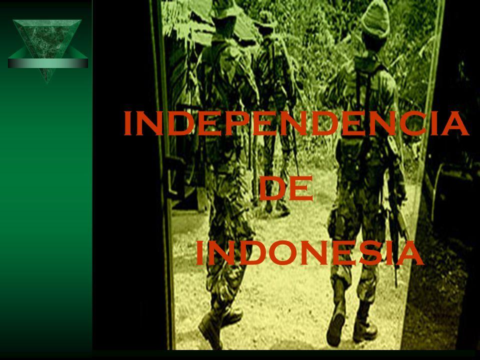 INDEPENDENCIA DE INDONESIA