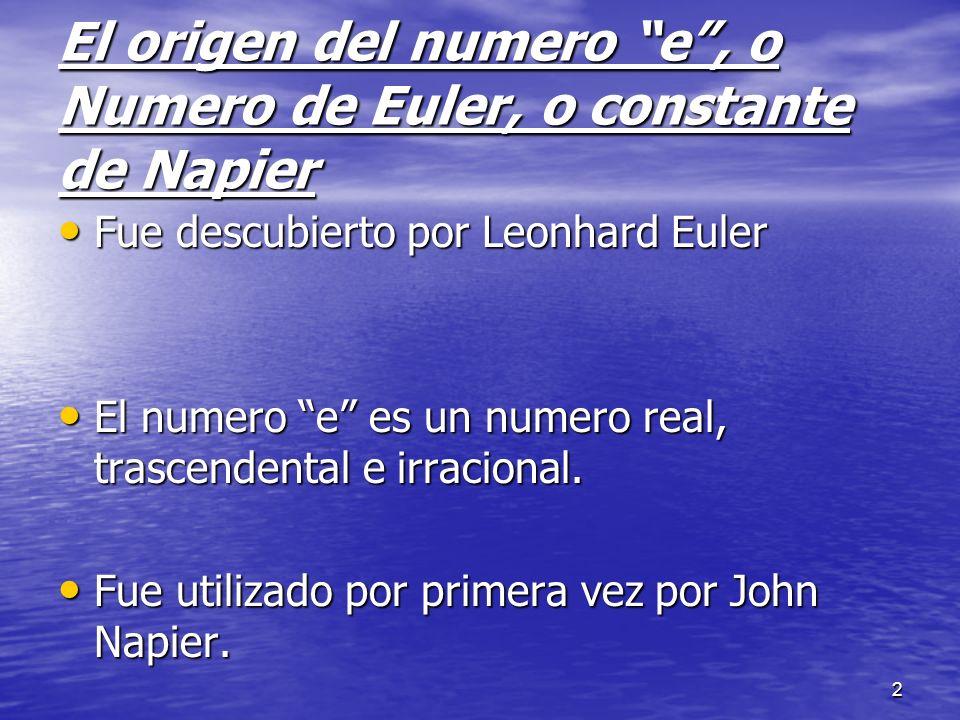 3 Leonhard Euler Leonhard Euler fue un matemático y físico suizo.
