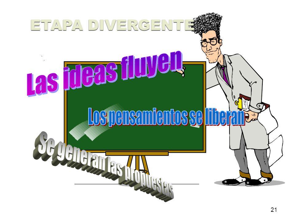 21 ETAPA DIVERGENTE