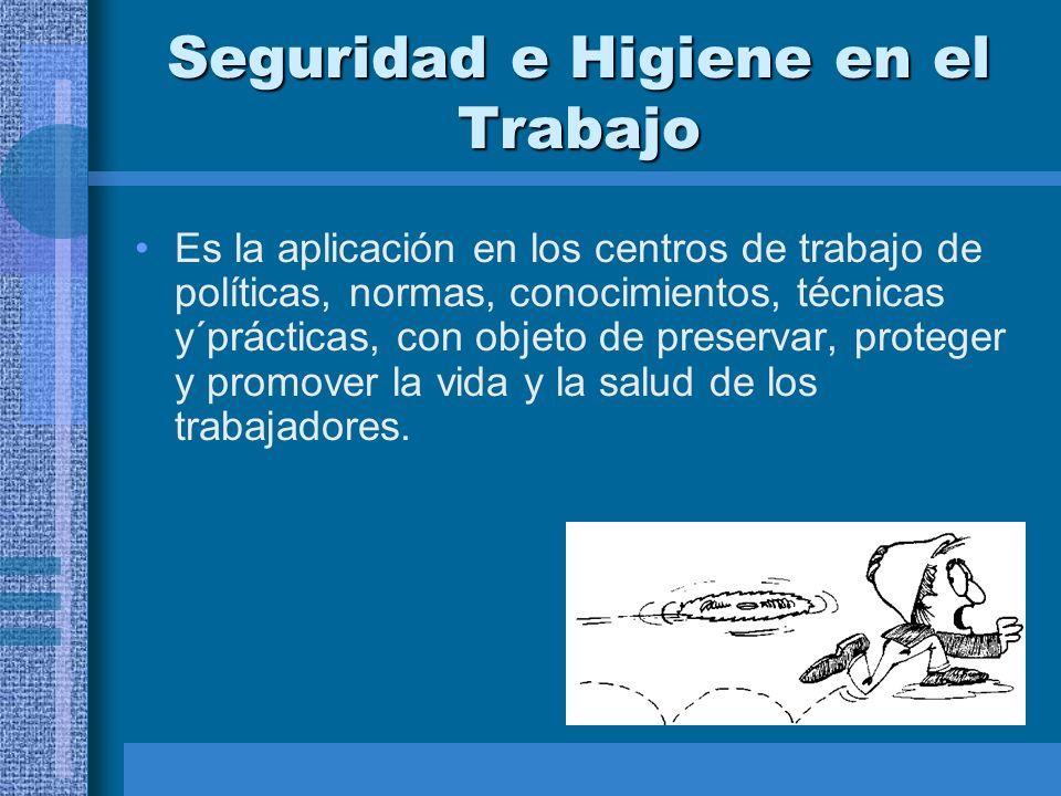 Programas de Seguridad e Higiene Industrial Comisiones de Seguridad e Higiene