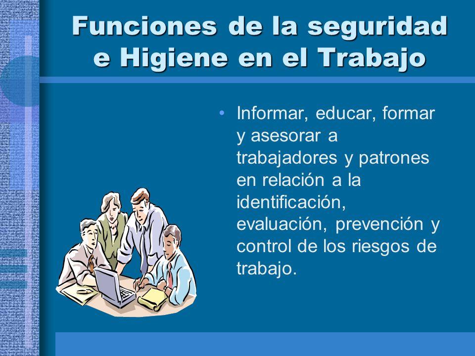 BASES LEGALE DE LA SEGURIDAD E HIGIENE EN EL TRABAJO Artículo 512.
