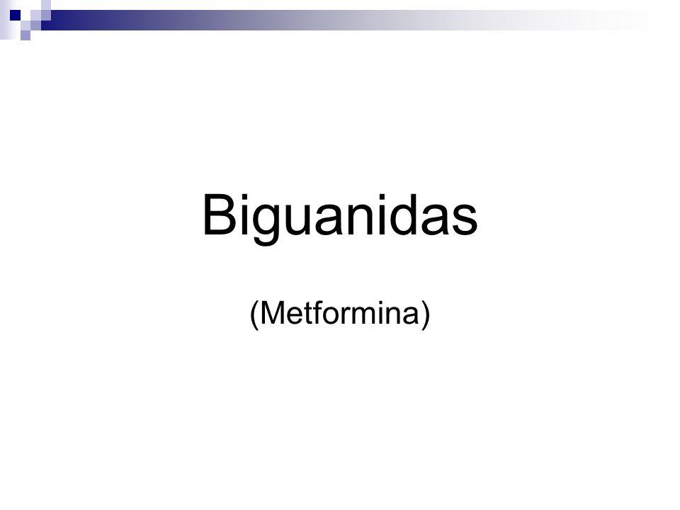 Biguanidas (Metformina)