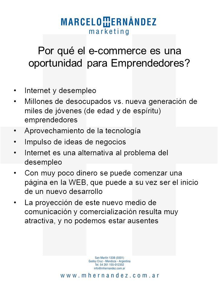 Por qué el e-commerce es una oportunidad para Emprendedores.