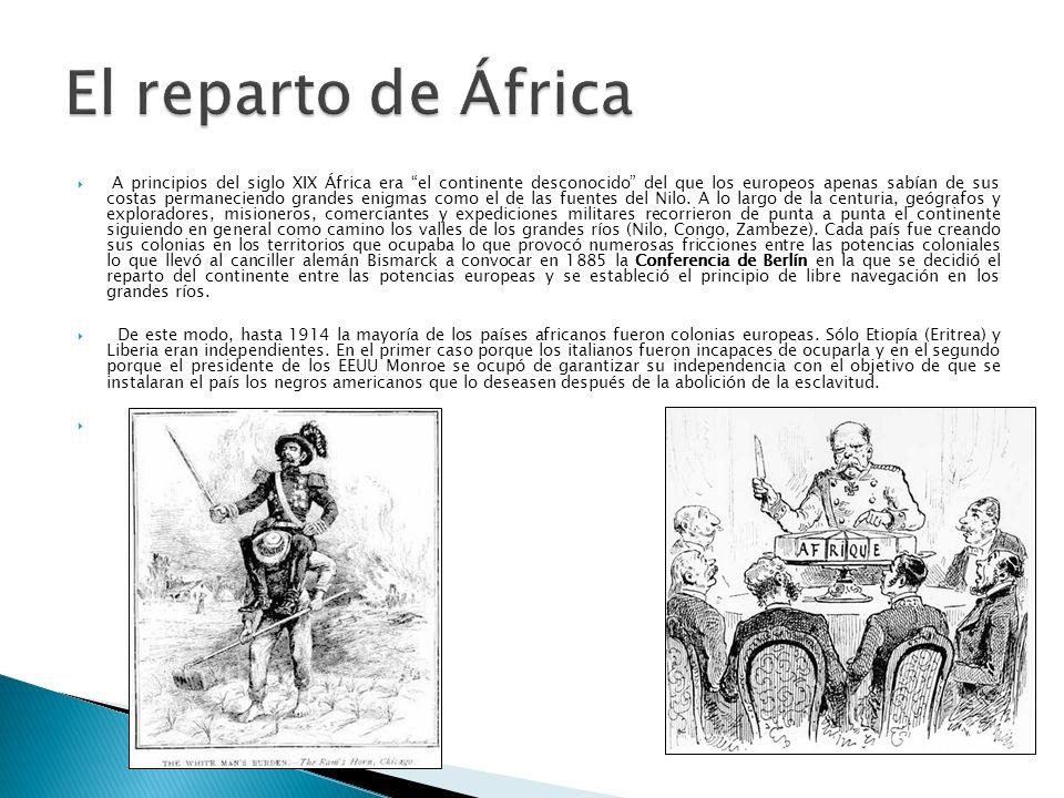 A principios del siglo XIX África era el continente desconocido del que los europeos apenas sabían de sus costas permaneciendo grandes enigmas como el