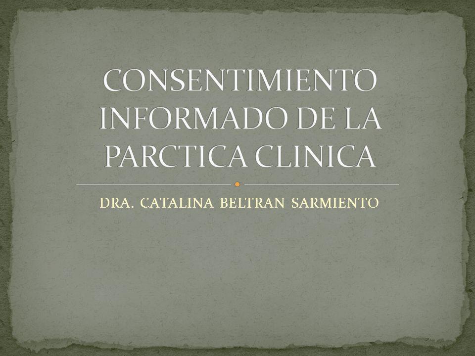 DRA. CATALINA BELTRAN SARMIENTO