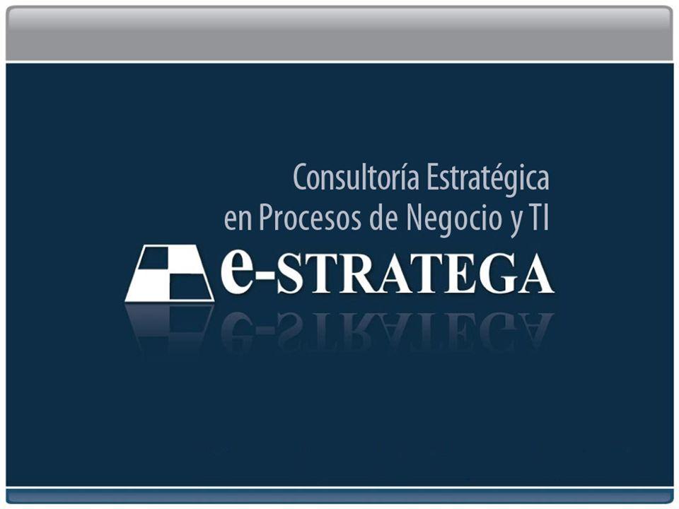 Consultoría Estratégica en Procesos de Negocios y TI 1
