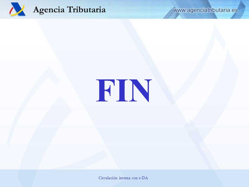 FIN Circulación interna con e-DA