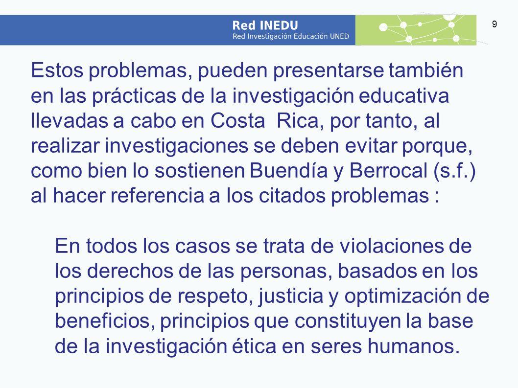 20 Quien investiga es responsable de las consecuencias de su investigación, de la divulgación y la difusión de los hallazgos y los efectos de los resultados.