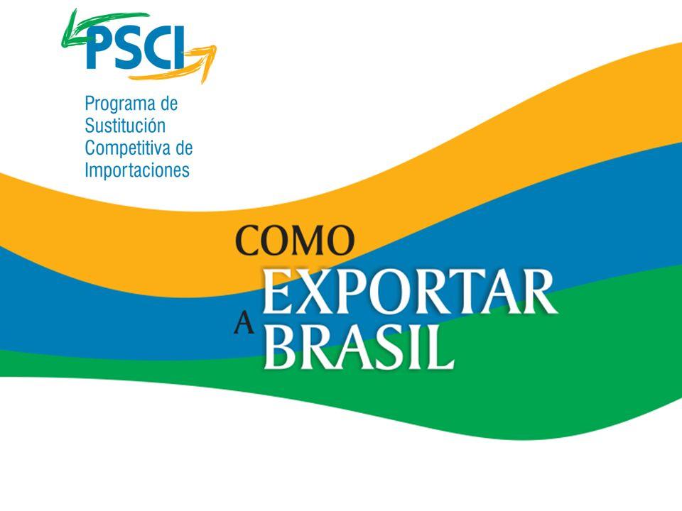 Regulaciones técnicas Agencias autorizadas Legislación Acuerdos de comercio Dirección de Importadores Oportunidades de comercio Logística Como Exportar a Brasil Información