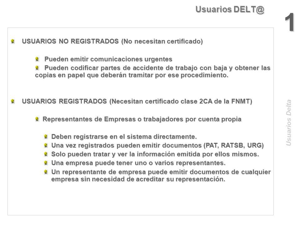 Arquitectura DELT@ Sistema De gestión Seguridad y X.500 Actores MTAS Identificación Depósito originales Correo Web DELT@ Red IP Salidas Entradas BBDDD