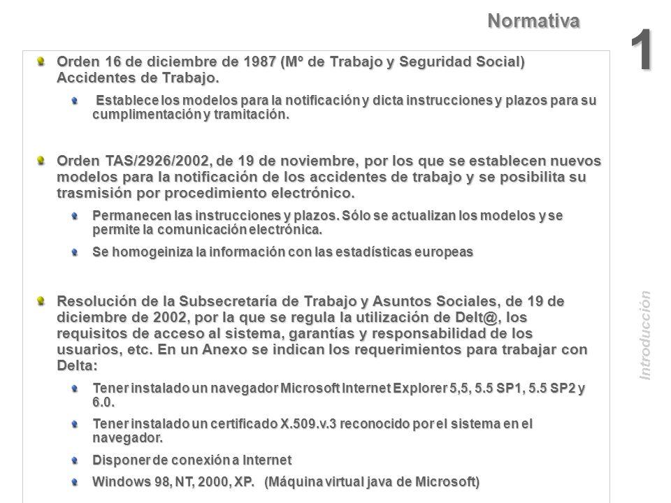 Noviembre 2003 Proyecto DELT@ Proyecto DELT@ D eclaración EL ectrónica de T rabajadores @ ccidentados