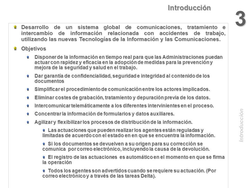 IntroducciónPRECEDENTES La empresa rellena un formulario en papel con siete copias que circulan de un lugar a otro sin ninguna garantía de confidencia
