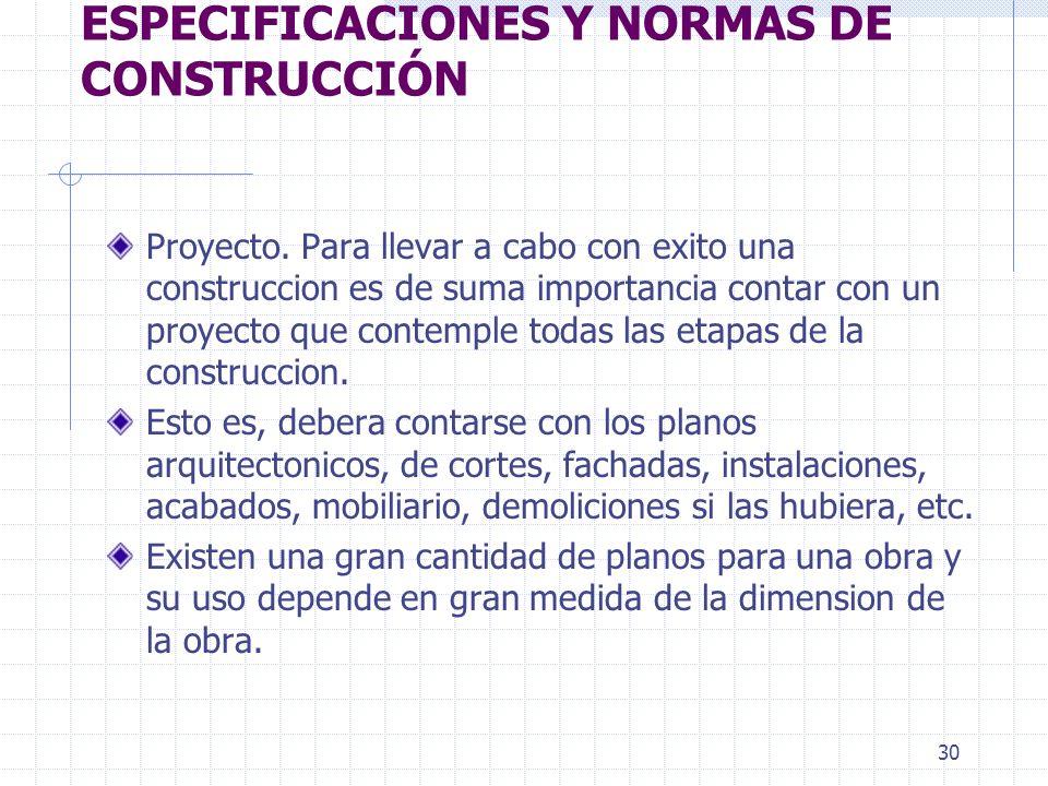 29 PUNTOS VARIOS: SUPERVISION DE LA OBRA DE CONSTRUCCION LOS PLANOS SERAN: ARQUITECTONICO, ESTRUCTURAL, INSTALACIONES, ACABADOS, ETC. PROGRAMA DE OBRA
