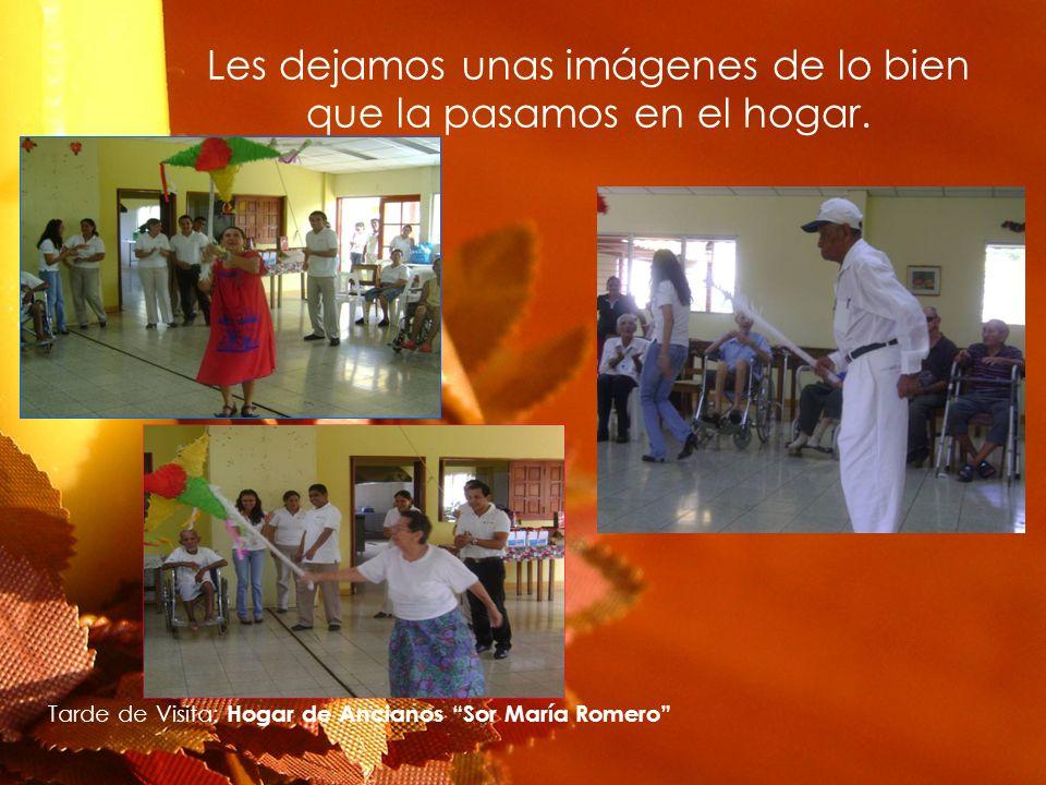 Les dejamos unas imágenes de lo bien que la pasamos en el hogar. Tarde de Visita: Hogar de Ancianos Sor María Romero