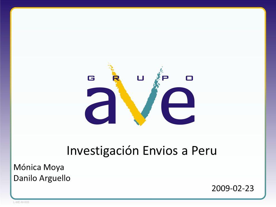 2009-02-23 Investigación Envios a Peru Mónica Moya Danilo Arguello