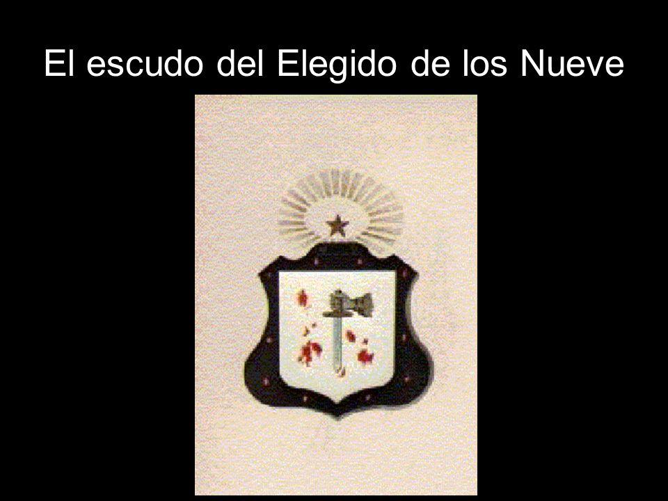 El escudo del Elegido de los Nueve