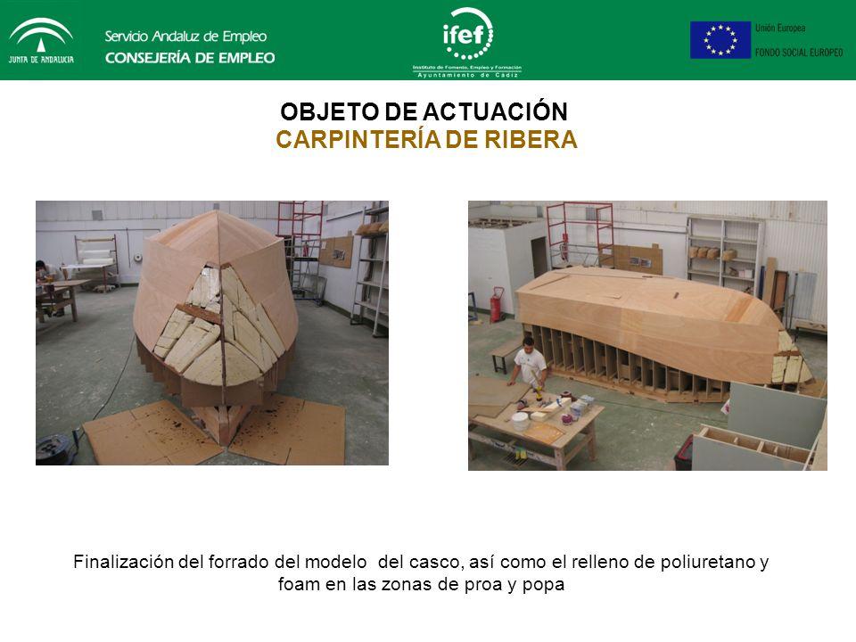 Reparación de la obra viva del casco de la ballenera FORMACIÓN PRÁCTICA EN ALTERNANCIA CON LA EXPERIENCIA PROFESIONAL TRANSFORMADOR DE PLÁSTICO Y CAUC