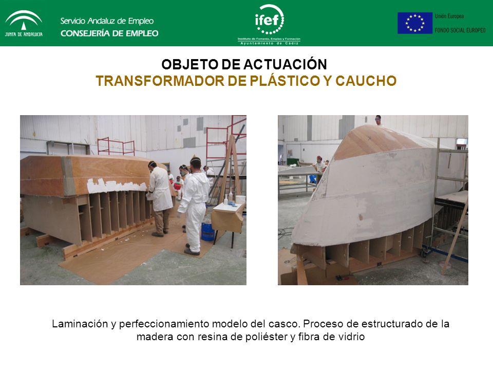 Torno de volteo OBJETO DE ACTUACIÓN MONTADOR DE ESTRUCTURAS METÁLICAS