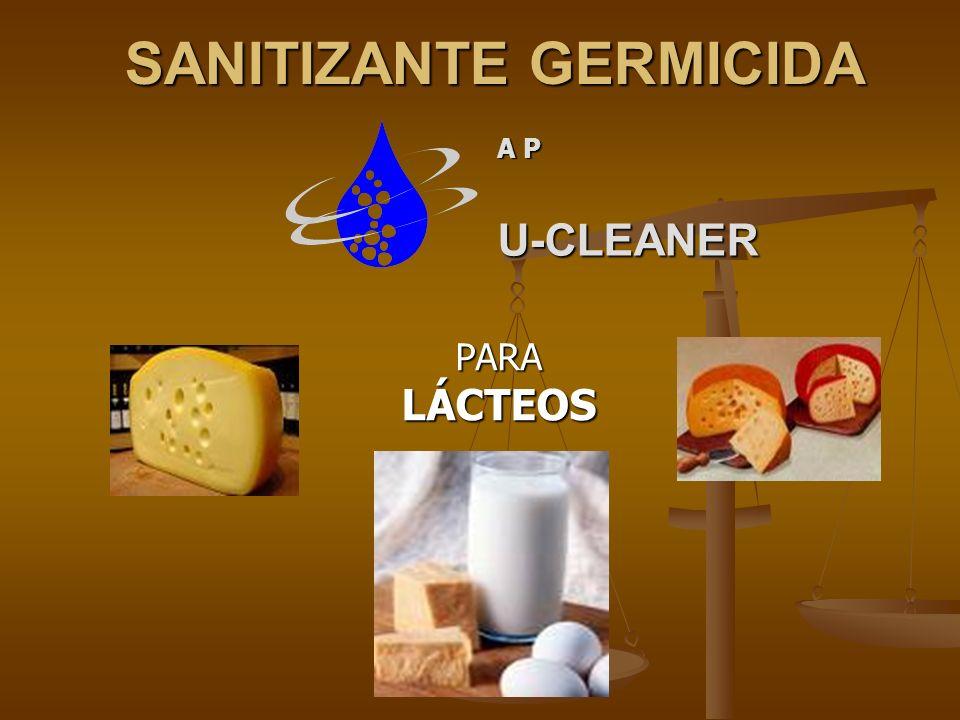 SANITIZANTE GERMICIDA PARALÁCTEOS A P U-CLEANER
