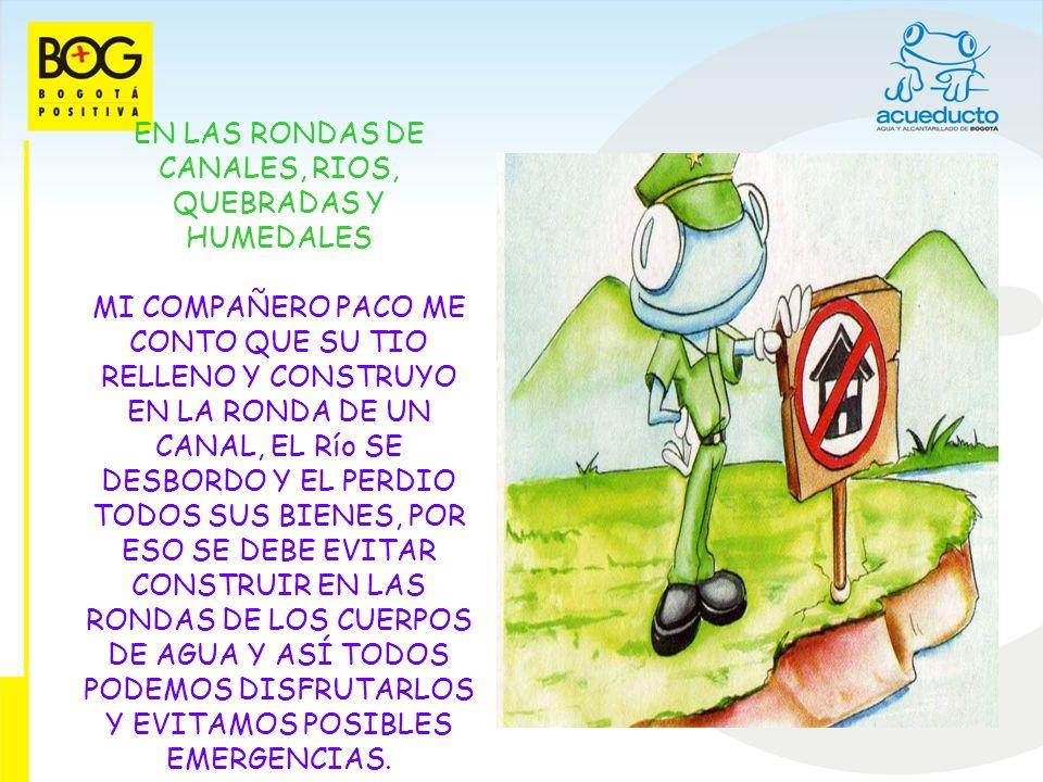 QUEBRADA EN EL MAPA DEL ABUELO TAMBIEN OBSERVE QUE EN LOS CERROS DE BOGOTA, SE CUENTA CON 100 QUEBRADAS ESTAS SON HERMANAS DE LOS RIOS.