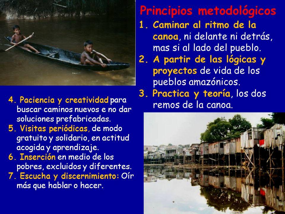 Principios metodológicos 4. Paciencia y creatividad para buscar caminos nuevos e no dar soluciones prefabricadas. 5. Visitas periódicas, de modo gratu