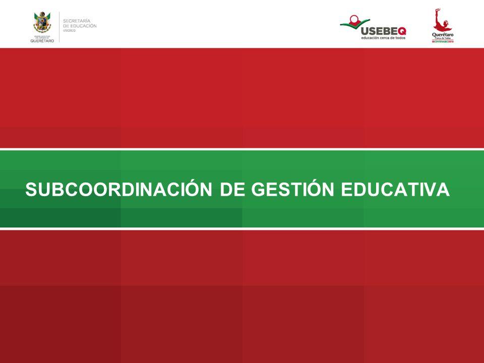 Propósitos específicos: Integrar 41 centros de educación básica.