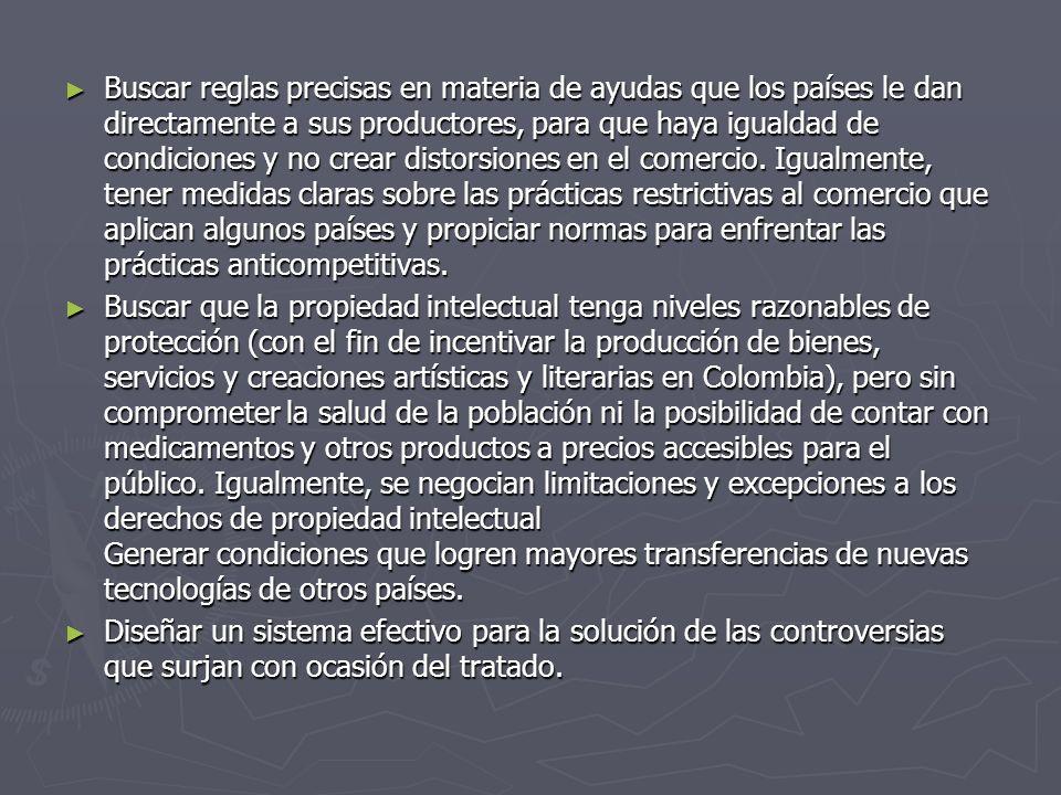 Otro factor de desventaja para Colombia, es la poca infraestructura que posee para poder controlar y hacer un tratado de estas características, como son vías para transportar los productos, puertos, maquinaria, puentes, ferrocarriles, bodegas, capacidad de planta de las empresas y tantos otros que hacen falta para competir con Estados Unidos.