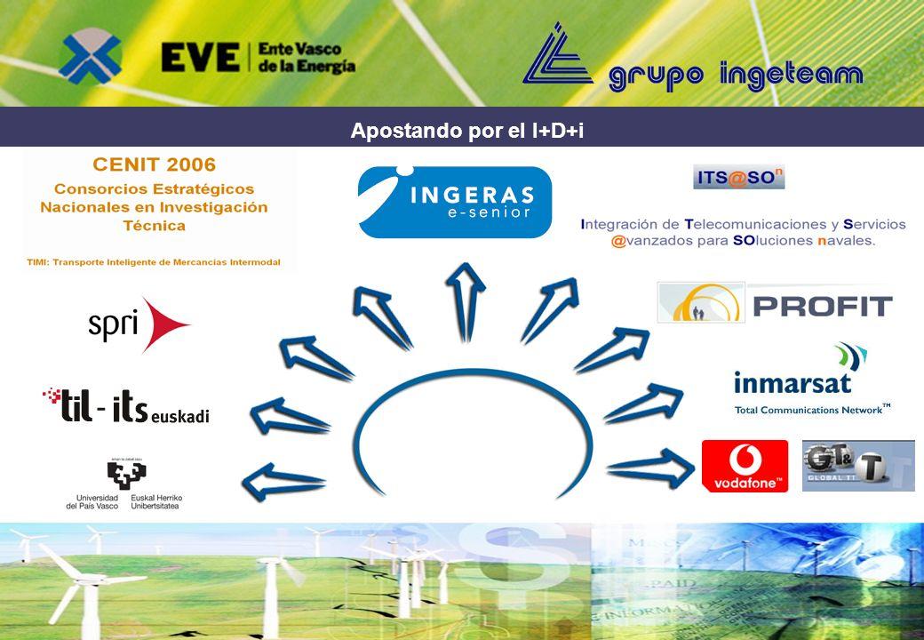 Oportunidades de financiación para proyectos innovadores D. Antonio J. R. Gonçalves, Grupo Ingeteam Presentación de buenas prácticas por parte de empr