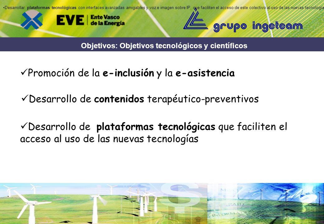 Objetivos: Objetivos Sociales Aumento de la calidad de vida de la 3º edad Fomento de la autonomía, seguridad y autoestima de las personas mayores Mejo