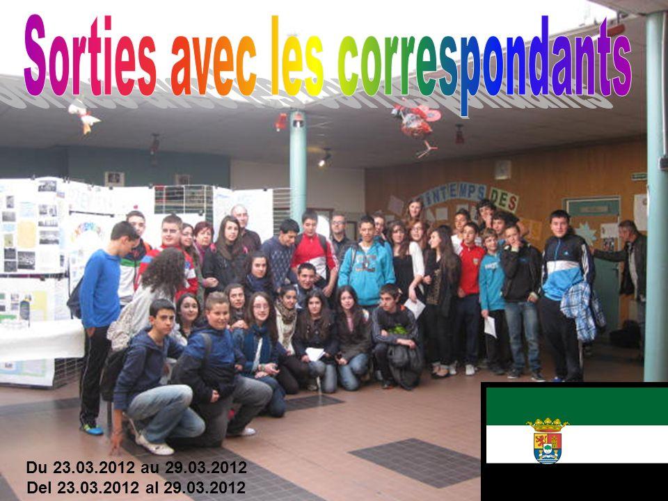 2a edición del intercambio entre el colegio de la Costa Radiante y Extremadure.