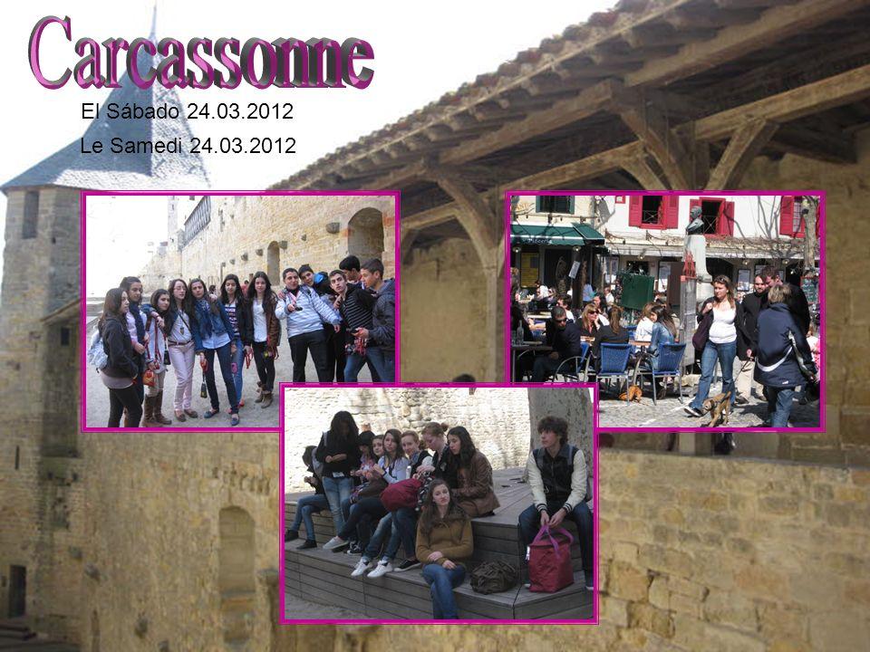 El Sábado 24.03.2012 Le Samedi 24.03.2012