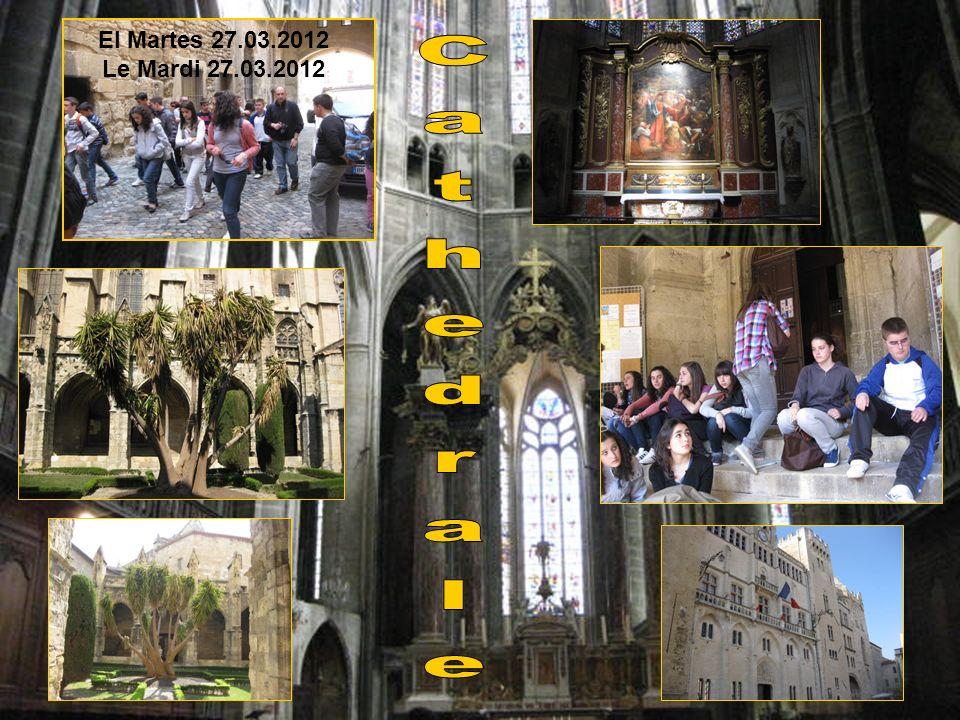 El Martes 27.03.2012 Le Mardi 27.03.2012