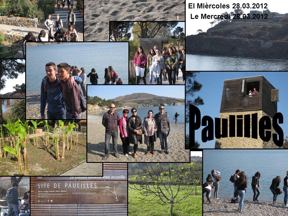 El Mièrcoles 28.03.2012 Le Mercredi 28.03.2012