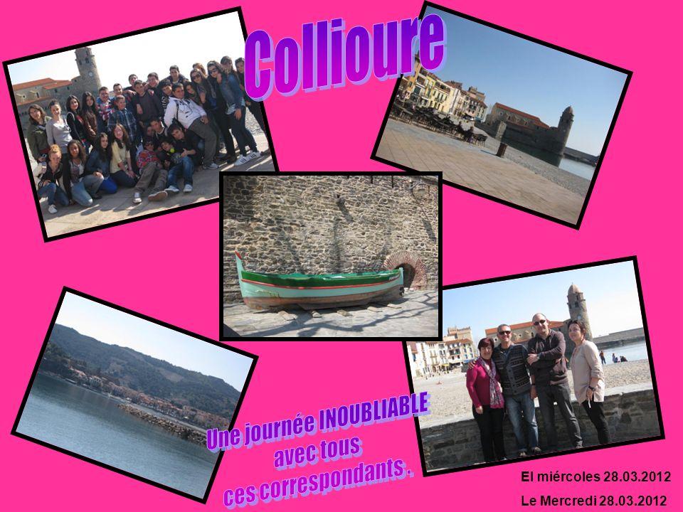 El miércoles 28.03.2012 Le Mercredi 28.03.2012