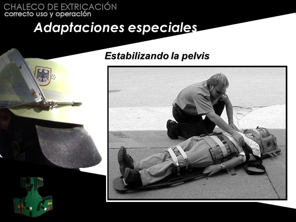 Adaptaciones especiales Estabilizando la pelvis