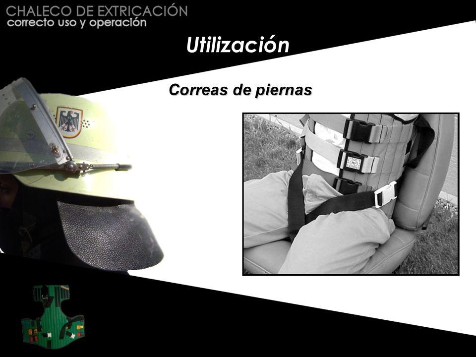 Conclusiones Esta instrucción ilustra el uso del chaleco de extricación en condiciones ideales.
