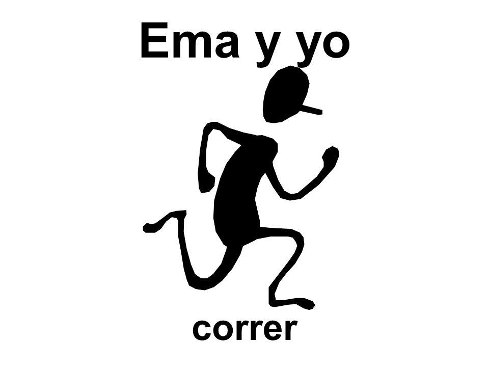 Ema y yo correr