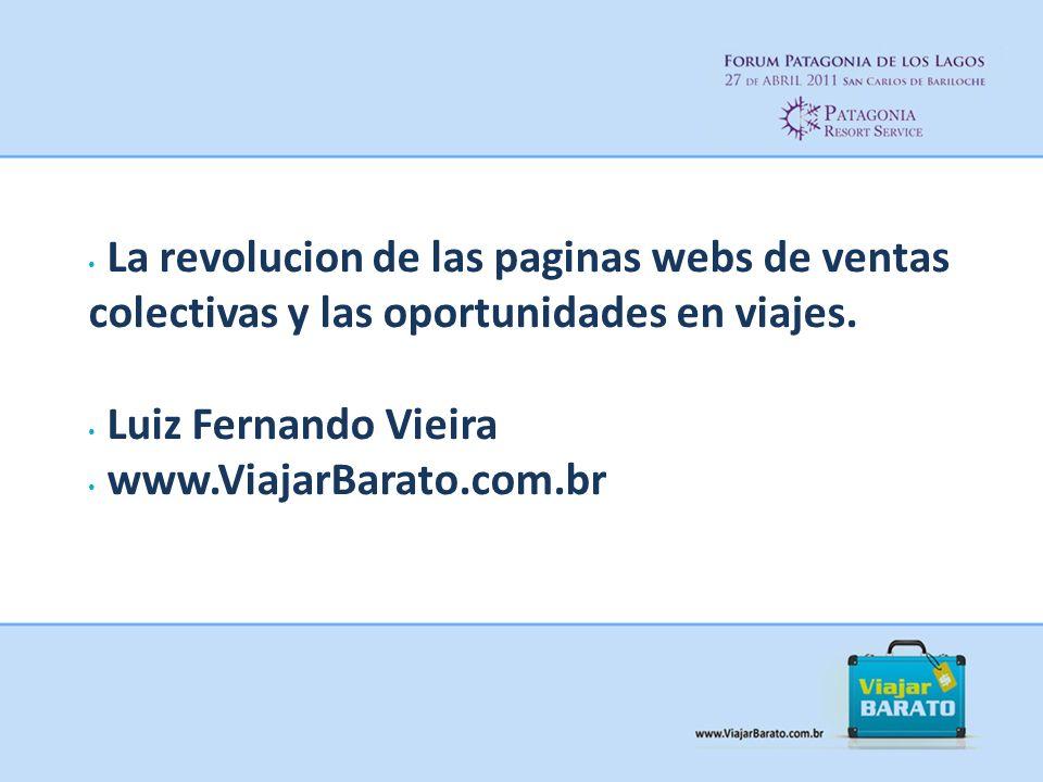 La revolucion de las paginas webs de ventas colectivas y las oportunidades en viajes.