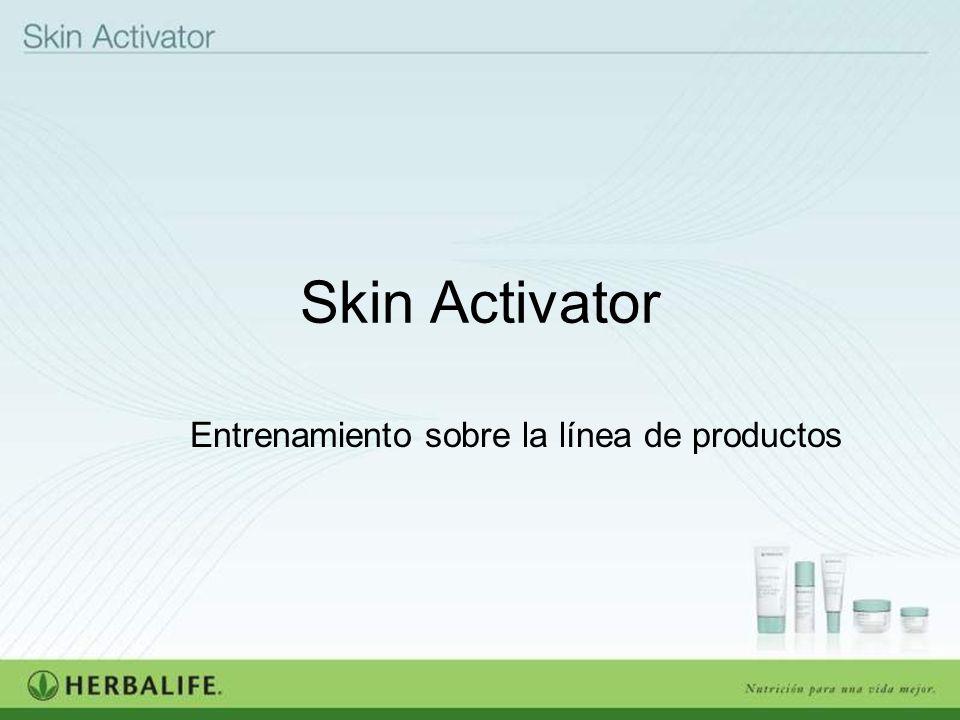 Skin Activator Entrenamiento sobre la línea de productos