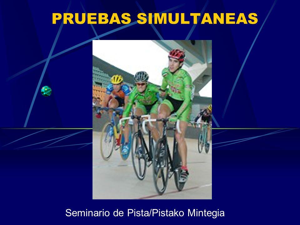 PRUEBAS SIMULTANEAS Seminario de Pista/Pistako Mintegia