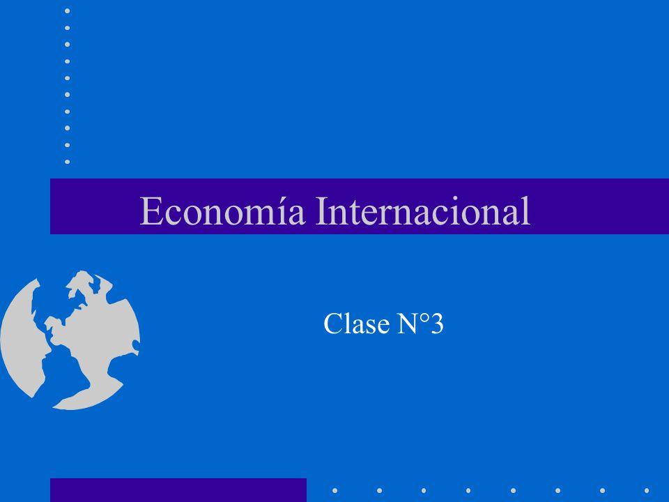 Economía Internacional Clase N°3