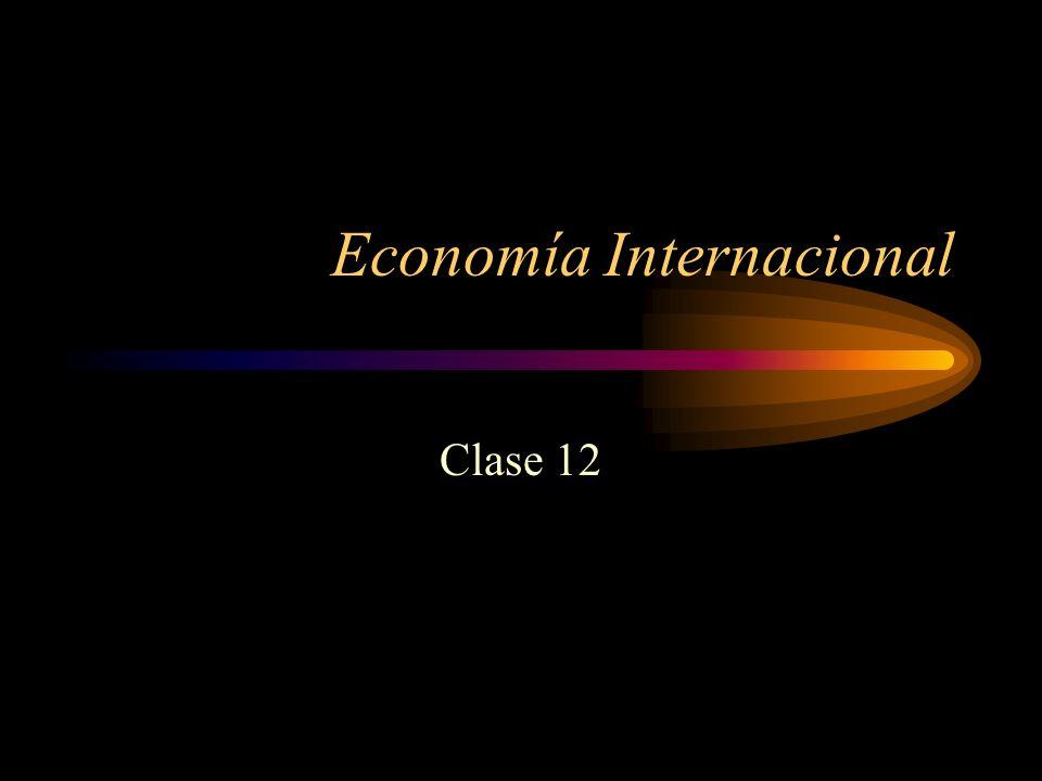Economía Internacional Clase 12