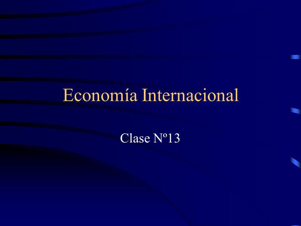 Economía Internacional Clase Nº13