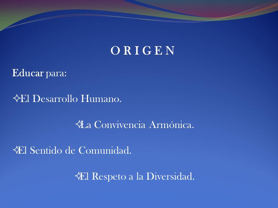 IDEARIO FUNDANTE María Antonieta Mendoza Basaure Presidenta